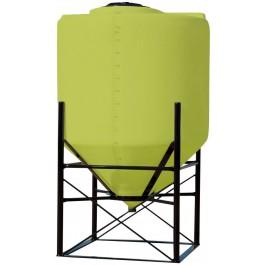 240 Gallon Yellow Cone Bottom Tank