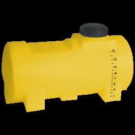 15 Gallon Yellow Drainable Leg Tank