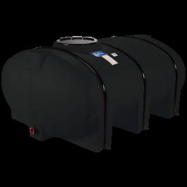 510 Gallon Black Elliptical Leg Tank