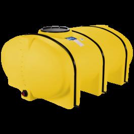 510 Gallon Yellow Elliptical Leg Tank