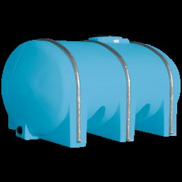 1035 Gallon Light Blue Elliptical Leg Tank