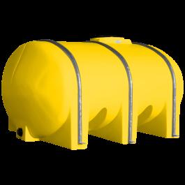 1035 Gallon Yellow Elliptical Leg Tank