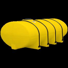 1610 Gallon Yellow Elliptical Leg Tank