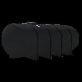 1850 Gallon Black Elliptical Leg Tank