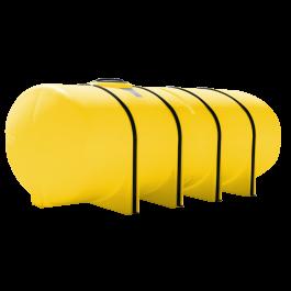 1850 Gallon Yellow Elliptical Leg Tank