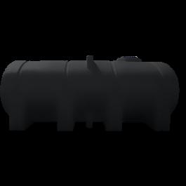 2350 Gallon Black Elliptical Leg Tank