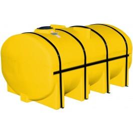 3250 Gallon Yellow Elliptical Leg Tank