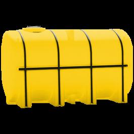 3750 Gallon Yellow Elliptical Leg Tank