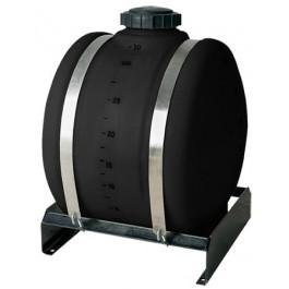 25 Gallon Black Applicator Tank