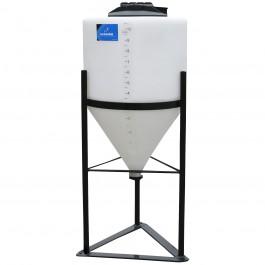 10 Gallon Inductor Full Drain Cone Bottom Tank