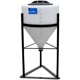 7 Gallon Inductor Full Drain Cone Bottom Tank