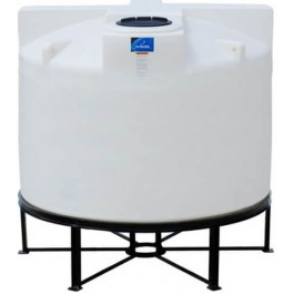 1150 Gallon Open Top Cone Bottom Tank with bolt-on top