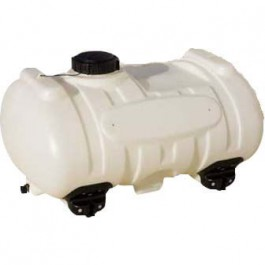 40 Gallon White Blow-Molded Applicator Tank