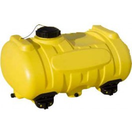 40 Gallon Yellow Blow-Molded Applicator Tank