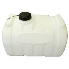 60 Gallon White Blow-Molded Applicator Tank