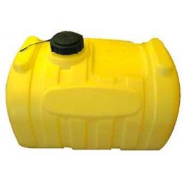60 Gallon Yellow Blow-Molded Applicator Tank