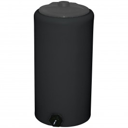 10 Gallon Black Vertical Water Storage Tank
