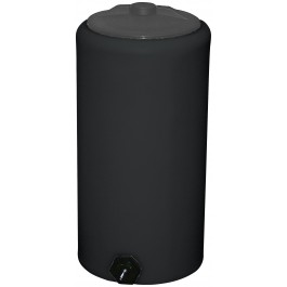 10 Gallon Black Vertical Storage Tank
