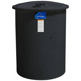 55 Gallon Black Vertical Storage Tank