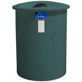 55 Gallon Green Vertical Storage Tank