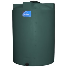 130 Gallon Green Vertical Storage Tank