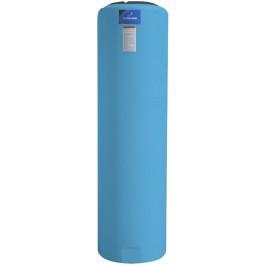 135 Gallon Light Blue Vertical Storage Tank