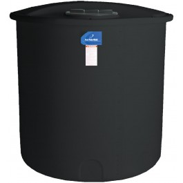 145 Gallon Black Vertical Storage Tank