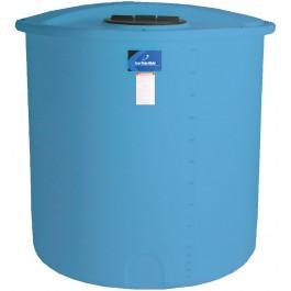 145 Gallon Light Blue Vertical Storage Tank