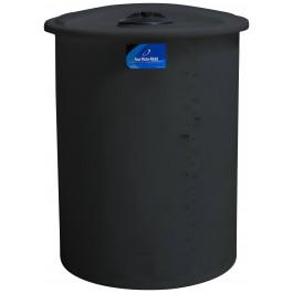 200 Gallon Black Vertical Storage Tank