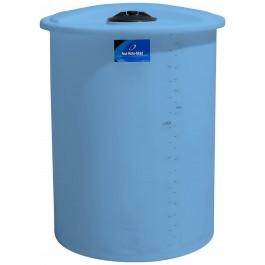 200 Gallon Light Blue Vertical Storage Tank