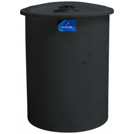 250 Gallon Black Vertical Storage Tank