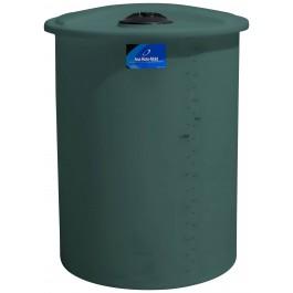 250 Gallon Green Vertical Storage Tank