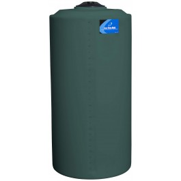 265 Gallon Green Vertical Storage Tank