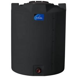 295 Gallon Black Vertical Storage Tank