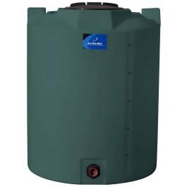 295 Gallon Green Vertical Storage Tank
