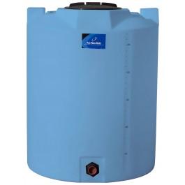 295 Gallon Light Blue Vertical Storage Tank