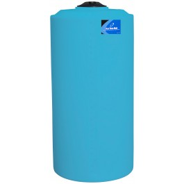 300 Gallon Light Blue Vertical Storage Tank