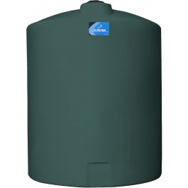 300 Gallon Green Vertical Storage Tank