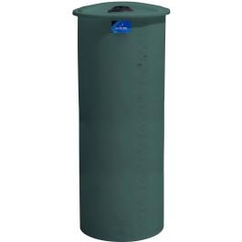 325 Gallon Green Vertical Storage Tank