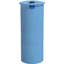 325 Gallon Light Blue Vertical Storage Tank