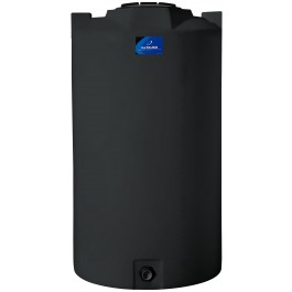 420 Gallon Black Vertical Storage Tank