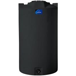 420 Gallon Black Vertical Storage Tank