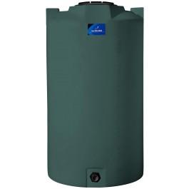 420 Gallon Green Vertical Storage Tank