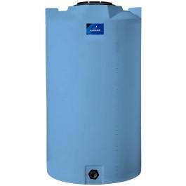 420 Gallon Light Blue Vertical Storage Tank