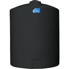 425 Gallon Black Vertical Storage Tank