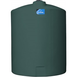 425 Gallon Green Vertical Storage Tank