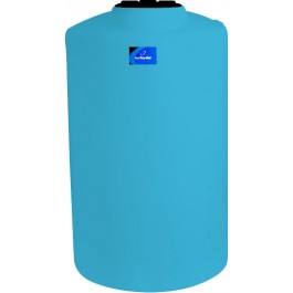 505 Gallon Light Blue Vertical Storage Tank