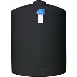 550 Gallon Black Vertical Storage Tank