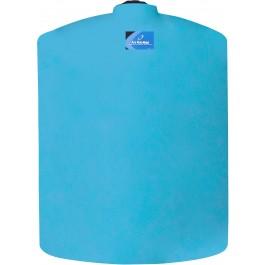 550 Gallon Light Blue Vertical Storage Tank