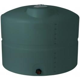 625 Gallon Green Vertical Storage Tank